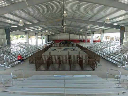 The brand-new Holman Livestock Complex is a new addition