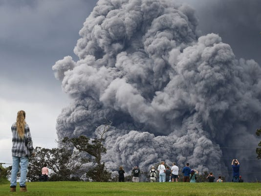Hawaii's Kilauea Volcano Erupts Forcing Evacuations