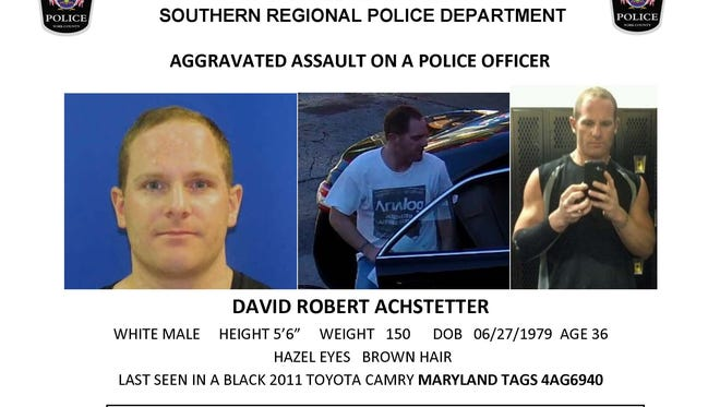 David Robert Achstetter is wanted by police.