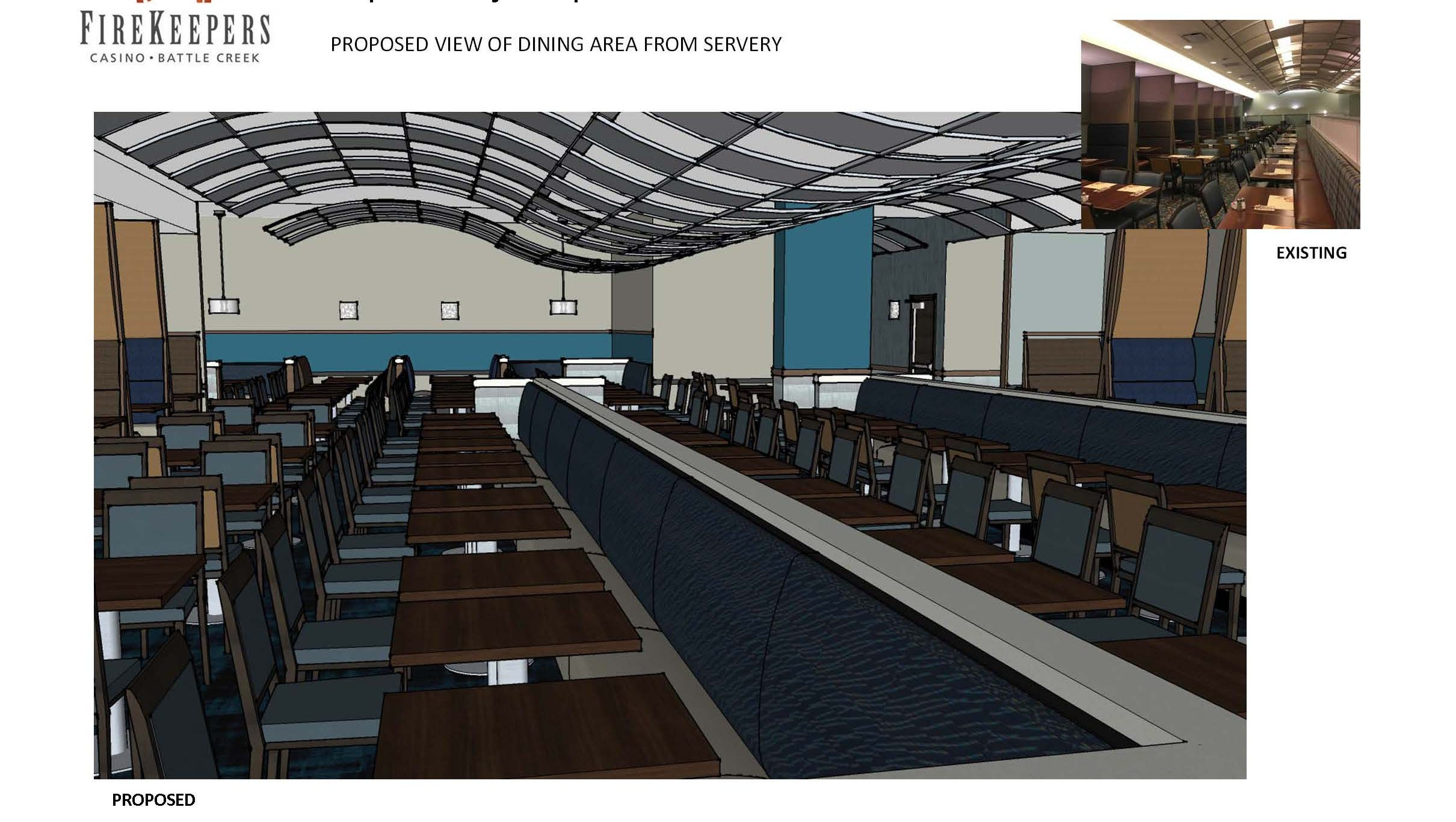 Firekeepers Casino Plans New Look For Mijem Buffet