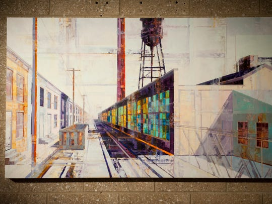 This painting by Michael Bartmann will be shown in