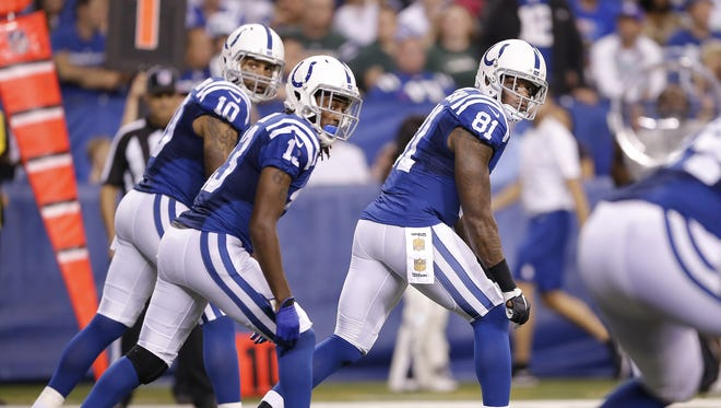 They've had their moments, but the Colts' receiving core is partly to blame for the team's offensive regression this season.