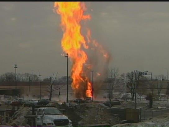 Gas Explosions Air And Natural Gas