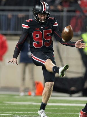 Ohio State punter Cameron Johnston played a big role in blacking out Penn State in last Saturday's 38-10 win.