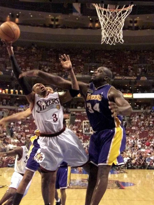 Shaquille O'Neal, Allen Iverson head up Hall of Fame class