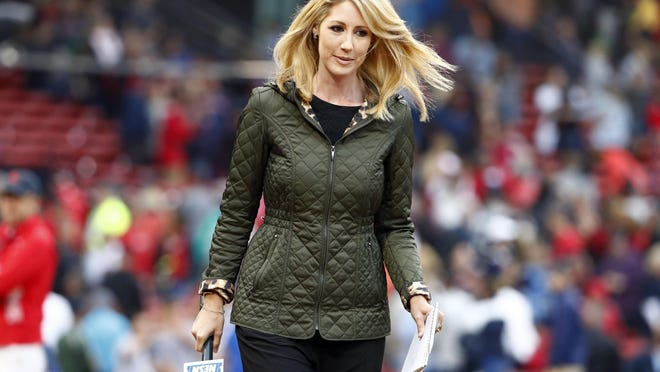 NESN sideline reporter Guerin Austin and the rest of the NESN broadcast crew will have to adjust to a world of remote broadcasts and no fans at games this season.