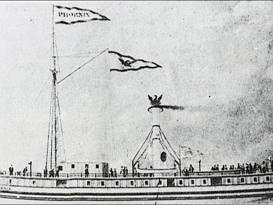 The Phoenix was described as one of the finest ships