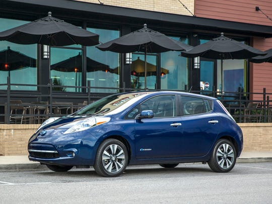 Nissan Leaf – The second generation of Nissan's electric car offers an EPA estimated range of 107 miles.