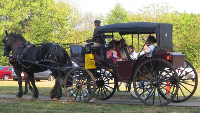 Enjoy a horse-and-buggy ride at the North Brunswick Heritage Day on Saturday, Oct. 7, sponsored by Gloria Zastko, Realtors.