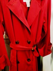 Talbots red trench coat ($9.99)