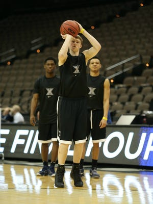 J.P. Macura missed Saturday's Big East Championship game against Villanova with a sprained right ankle, but he's expected to be ready to roll for Xavier's NCAA tournament game against Ole Miss.