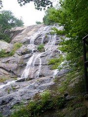 This is Crabtree Falls in George Washington National