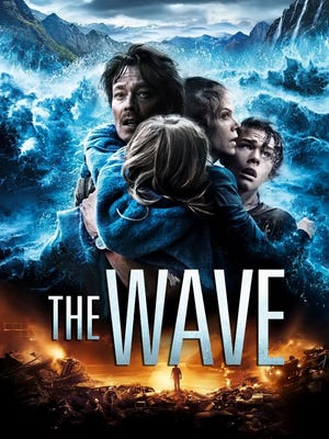 "The poster for the Norwegian disaster movie, ""The Wave."""