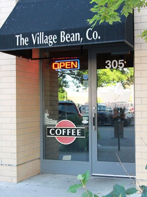 The Village Bean Co. coffee shop in Des Moines' East Village closed Sunday, Nov. 6, 2016.