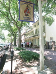 Indian King Tavern in Haddonfield is hosting a series, 'Culinary Experiences of the Revolution,' which continues Saturday with 'Thomas Jefferson.'