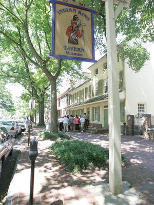 Indian King Tavern in Haddonfield is hosting a series, 'Culinary Experiences of the Revolution,' which kicks off Saturday with 'Mrs. Goodfellow.'