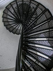 Of the 177 total stairs in the lighthouse, 110 of them needed to be fixed during the approximately $2.5 million restoration process that occurred between December 2013 and January 2018. Nine of the nine-inch risers that hold each stair also needed to be restored. A donation of $104,000 by IMPACT 100 Pensacola Bay Area helped jump start the process that included repairing cracks in structures and foundations, correcting a paint issue from a previous restore procedure in the 1990's, and much more.