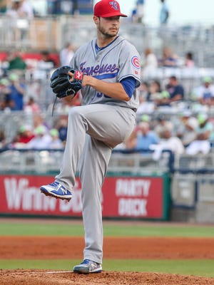 Thomas Hatch is 5-3 with a 3.42 ERA in 13 starts for the Smokies.