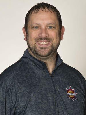 Peoria Rivermen director of business development Andrew Cohen
