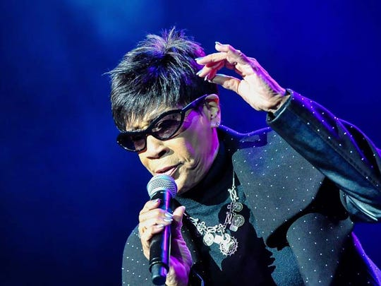 Bettye Lavette performs at the 2015 Detroit Music Awards on April 10, 2015, at the Fillmore Detroit.