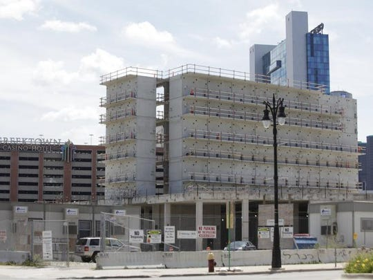 There's a deep roster of big empty Detroit buildings