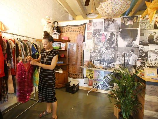 Bianca Gonzalez, is a retail intern working at Blue