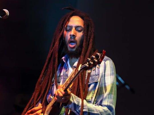 Reggae musician Julian Marley.