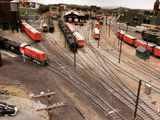 See one of the largest model train displays in New