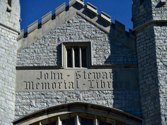 John Stewart Memorial Library is one of several possibly haunted places on the Wilson College campus.