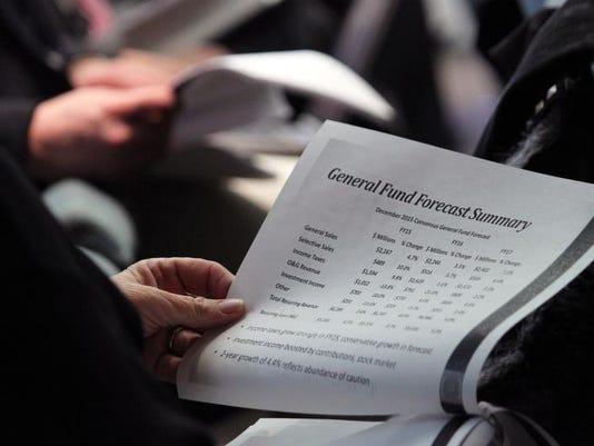 Legislature budget