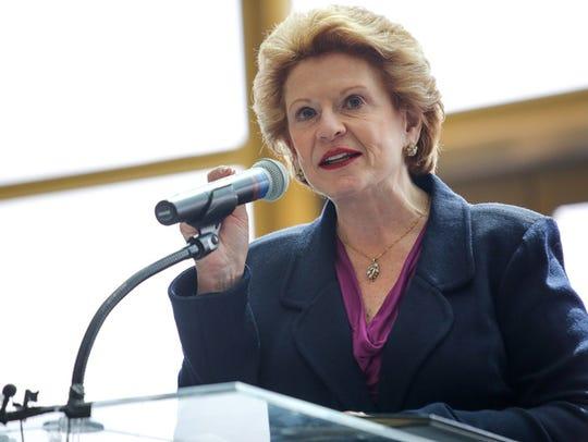 U.S. Senator Debbie Stabenow speaks about the legacy