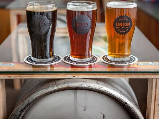 Union Craft brewery tour
