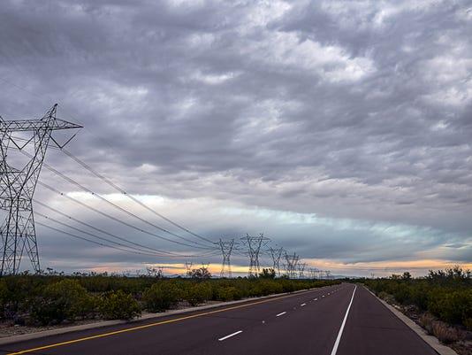 Cloudy Buckeye sky