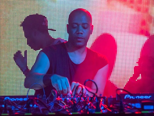 "Carl Craig brought his world-touring ˜Detroit Love"" back  for a Movement Festival after party at the Masonic Temple. Detroit-based DJ Keith Kemp started the evening off before Craig, Seth Troxler and Dubfire."