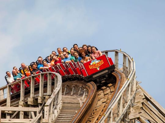 More than 26 million have ridden the Mean Streak since it opened in 1991.