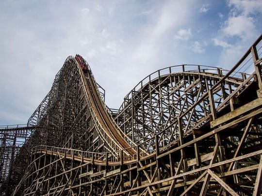 The Mean Streak will close Sept. 16 following a 25-year run at Cedar Point. The wooden roller coaster traveled 65 mph.