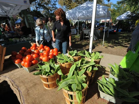 A Tomato Festival is one of the late summer events in West Cape May, NJ