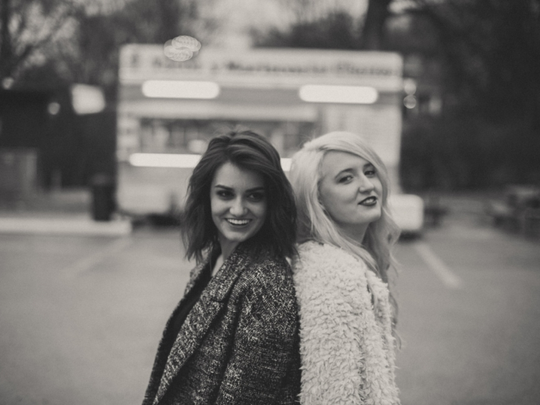 Sawyer is an indie-pop duo comprised of Emma Harvey and Kel Taylor.
