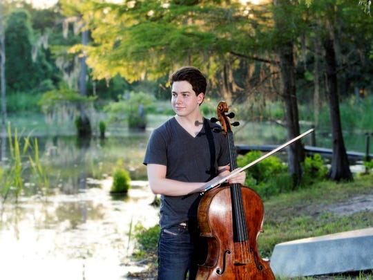 Cellist John-Henry Crawford will perform in his hometown of Shreveport in a free concert on Thursday.