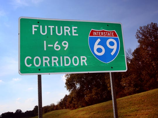 After considerable delay due to lack of funds the work on Tennessee's portion of I-69 has been revived — but not in Memphis, only the sections in Obion County.