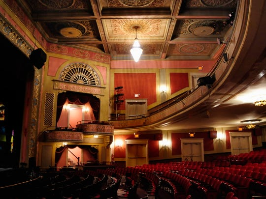 The Broadway Theatre of Pitman is an elegant place to take in a holiday show. During the song 'White Christmas' in one holiday show, it will snow in the theater.