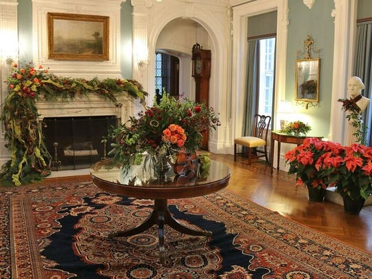 Self-guided Open House tours are available on select days in December.