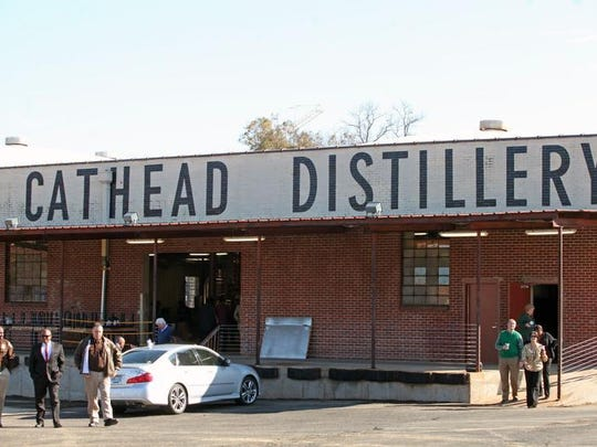 Cathead Distillery on South Farish Street in Jackson.