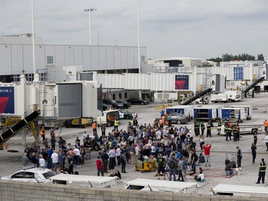 Airport shooting Florida