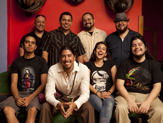 Reggae group Radio La Chusma will perform on the second Alfresco! Fridays concert.