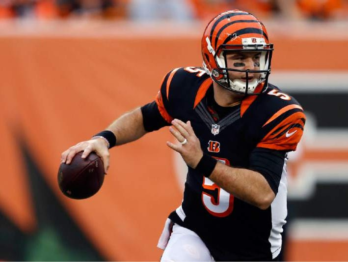 In three NFL seasons, former Alabama quarterback AJ McCarron has thrown for just 854 yards, six touchdowns and two interceptions in eight regular-season games.