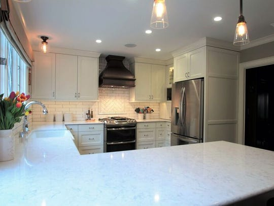 The work in this home was done by Cream City Construction.