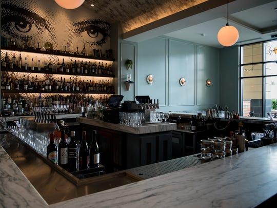 The bar at Henley in Nashville on Thursday, June 15,