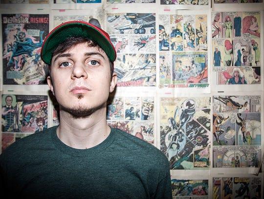 Nerdy rapper Watsky is a highlight among the nearly