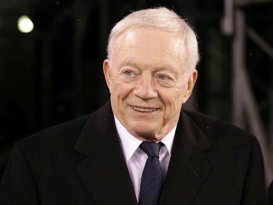 Jerry Jones said on the eve of the opening of training